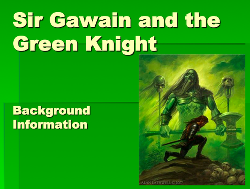 gawain and the green knight essay sir gawain and the green knight essay