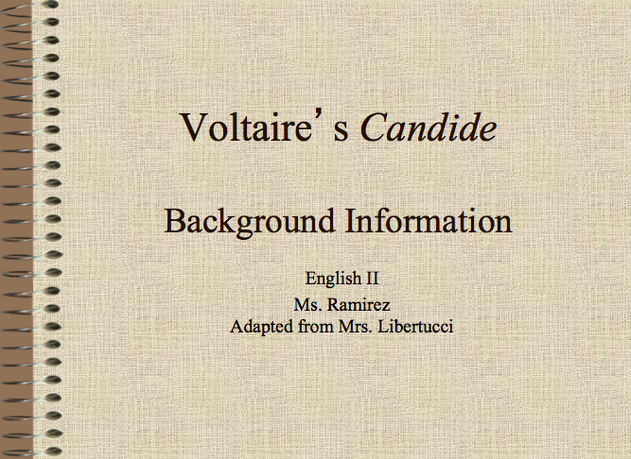 candide religion essay François-marie arouet known by his nom de plume voltaire was a french enlightenment writer  early in 1759, voltaire completed and published candide, ou l'optimisme (candide, or optimism) this satire in a 1763 essay, voltaire supported the toleration of other religions and ethnicities: it does not require great art.
